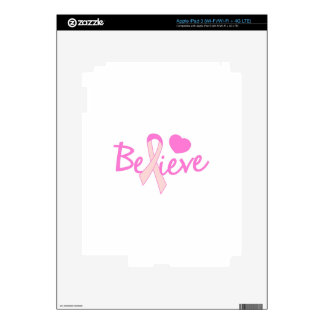 Believe Skins For iPad 3