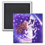 Believe Stars Fairy Magnet