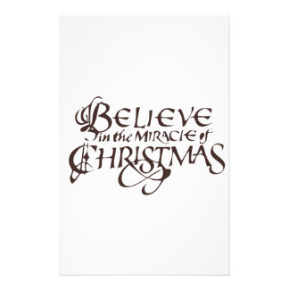 Believe Stationery