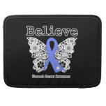 Believe - Stomach Cancer Butterfly Sleeve For MacBook Pro
