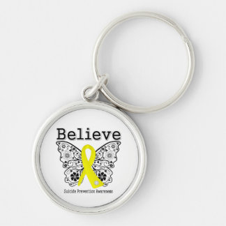 Believe Suicide Prevention Awareness Key Chains