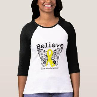 Believe Suicide Prevention Awareness T Shirt