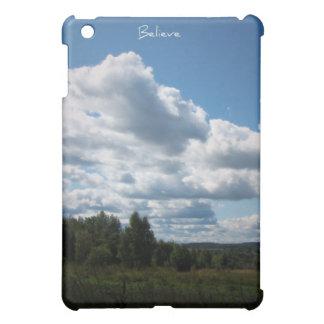 Believe, Summer Lanscape iPad Mini Cover