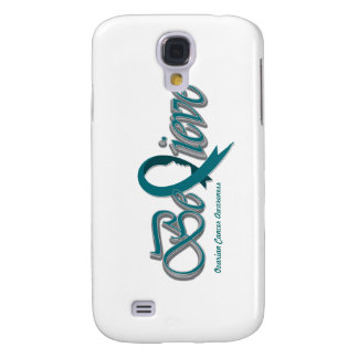 """Believe """"Teal - Gift Items"""" Samsung Galaxy S4 Case"""