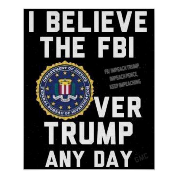 Believe the FBI Poster