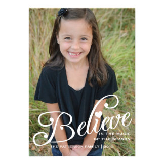 BELIEVE | The Magic of Christmas Photo Card