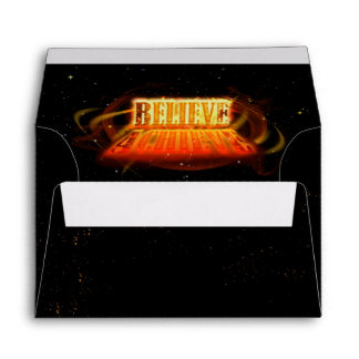 Believe to Achieve Envelopes