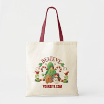 tote, bag, christmas, snowman, candy, cane, gingerbread, Bag with custom graphic design