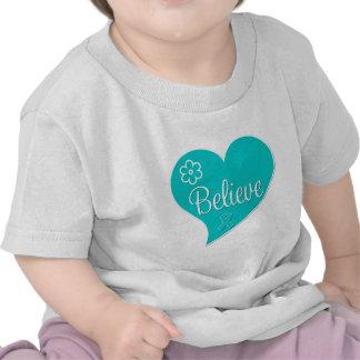 Believe Tourette Syndrome Awareness T-shirt