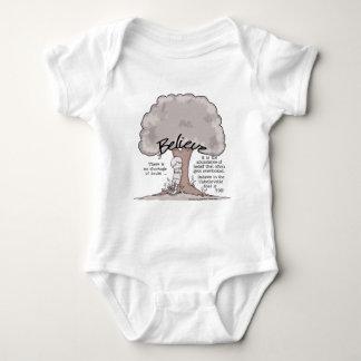 Believe Tree Baby Bodysuit