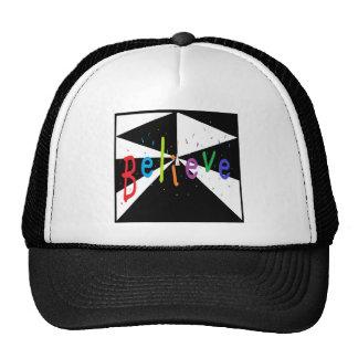 BELIEVE TRUCKER HAT