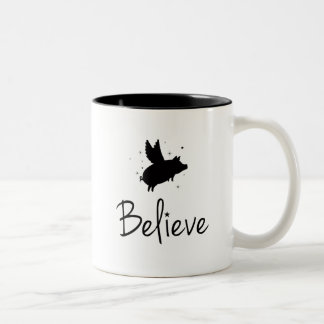 believe Two-Tone coffee mug