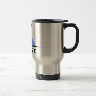 Believe (UFO beaming up cow) Coffee Mugs