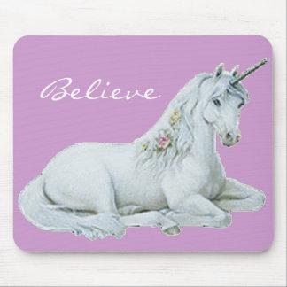 Believe Unicorn Mousepad