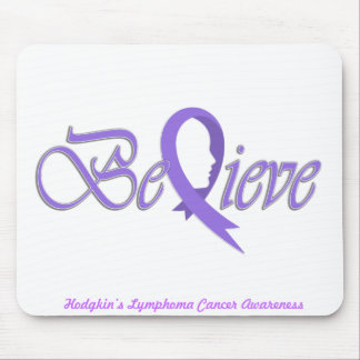 "Believe ""Violet Gift Items"" Mouse Pad"