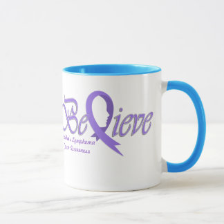 "Believe ""Violet Mug"" Mug"