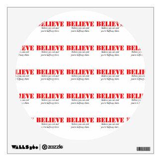 Believe Wall Sticker