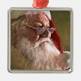 Believe, watercolor by Paul Jackson Metal Ornament