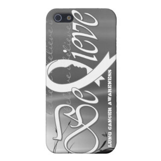 """Believe """"White - Gift Items"""" iPhone SE/5/5s Cover"""