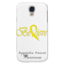 """Believe"" Yellow Ribbon Collection Samsung S4 Case"