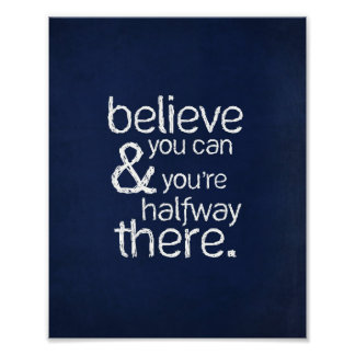 """Believe You Can - 8""""x 10"""" Art Print"""