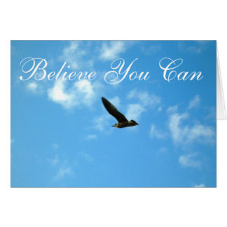 Believe You Can Card