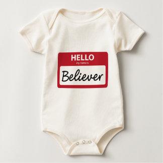 believer 001 baby bodysuit