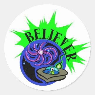 Believer Classic Round Sticker