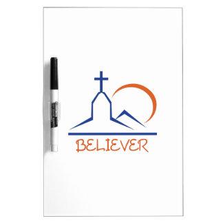 BELIEVER Dry-Erase BOARD