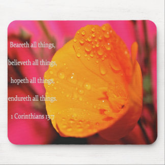 Believeth All Things - mousepad