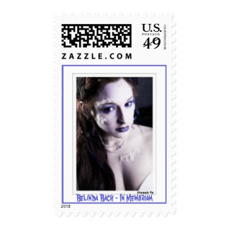Belinda Bach - In Memoriam - Customized Stamp