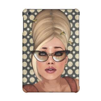 Belinda Beehive Retro Chic iPad Mini Cover