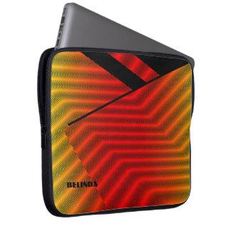 Belinda colorful laptop sleeve