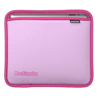 Belinda Pink iPad sleeve