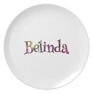 Belinda's Colorful Fun Plate