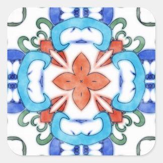Belinda Square Sticker