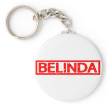 Belinda Stamp Keychain