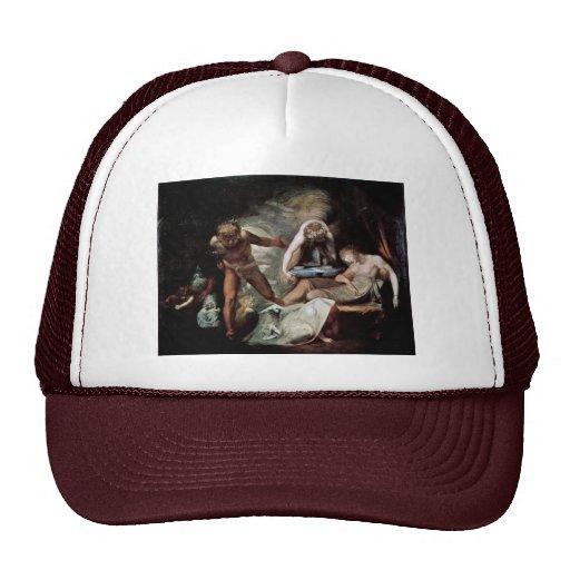 Belinda'S Dream By Füssli Johann Heinrich (Best Qu Mesh Hat