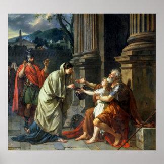 Belisarius Begging for Alms, 1781 Poster