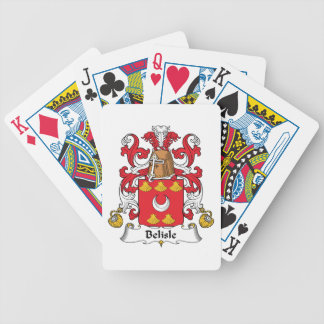 Belisle Family Crest Bicycle Playing Cards