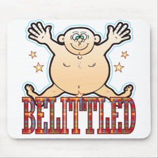 Belittled Fat Man Mouse Pad
