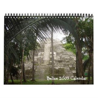 Belize 2009 Calendar