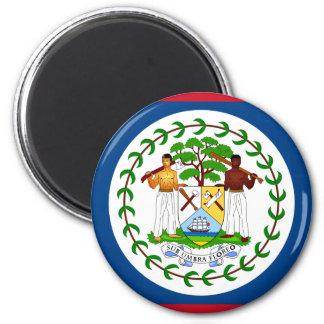 belize 2 inch round magnet