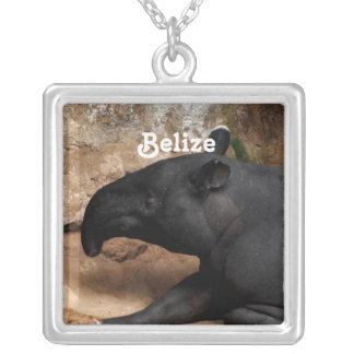 Belize Baird's Tapir Pendant