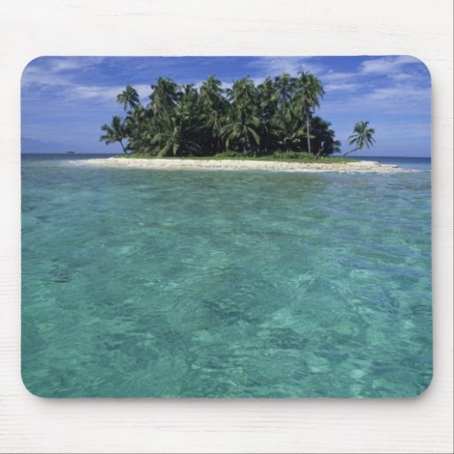 Belize, Barrier Reef, Unnamed island or cay. Mouse Pads