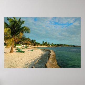 Belize Beach Poster