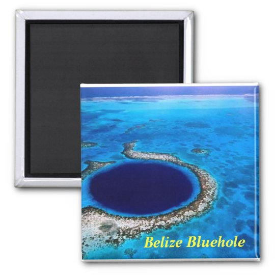 Belize bluehole, Belize Bluehole magnet