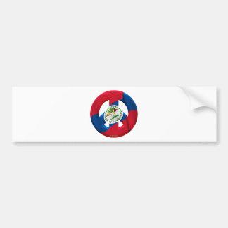 Belize Car Bumper Sticker
