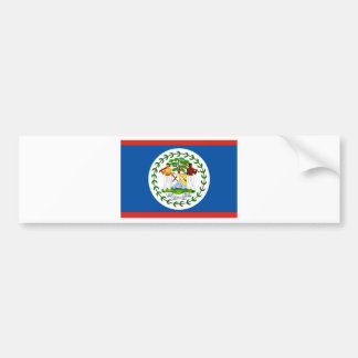 Belize Car Bumper Sticker