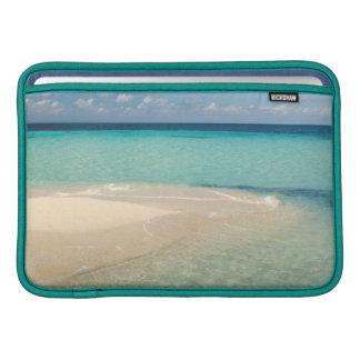 Belize, Caribbean Sea. Goff Caye, A Small Island MacBook Air Sleeve